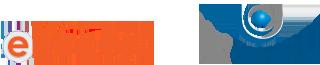Logos Curso do Encceja e UniCesumar